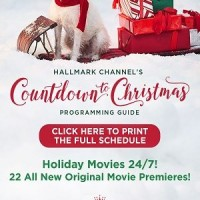 "Hallmark Channel ""Countdown to Christmas"" 2018 Christmas Premieres!"