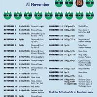 Freeform's Kickoff to Christmas begins November 1st