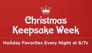 "Hallmark Channel's ""Christmas Keepsake Event"" starts Monday 7/8 at 8pm"