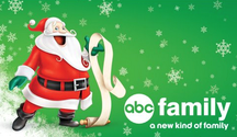 Christmas in October on the ABC Family Channel