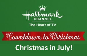 "Hallmark Channel's 2014 ""Christmas in July"" begins July 7th!"