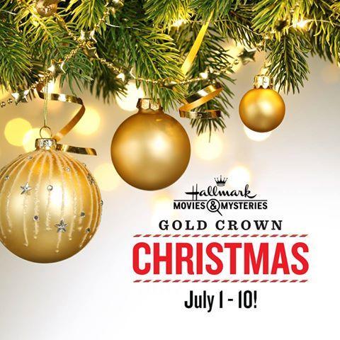 Hallmark Movies Mysteries Gold Crown Christmas Event