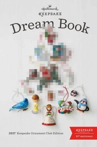 Hallmark 2017 Dream Book Christmas Ornaments Sneak Peek