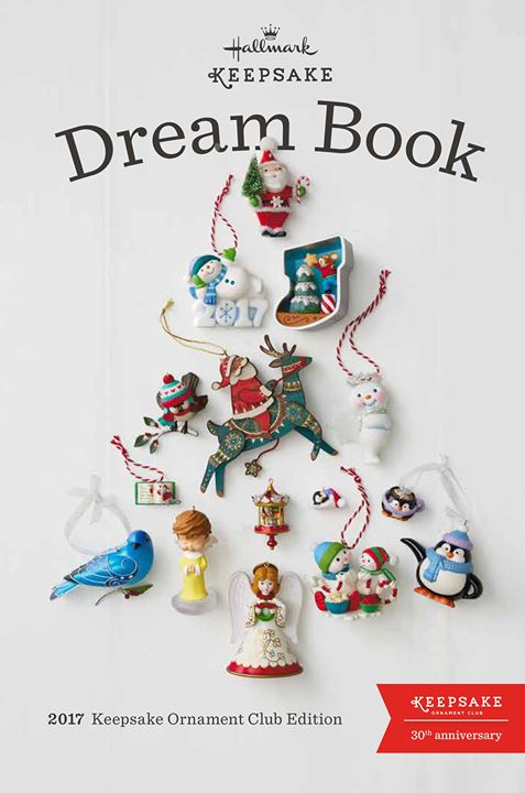 2017 Dream Book Christmas Ornaments Sneak Peek