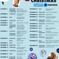 Kickoff to Christmas on Freeform begins November 1st