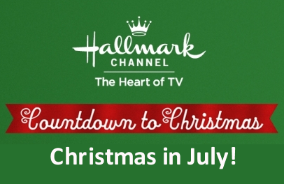 "Hallmark Channel's ""Christmas in July"" begins July 7th 2017"