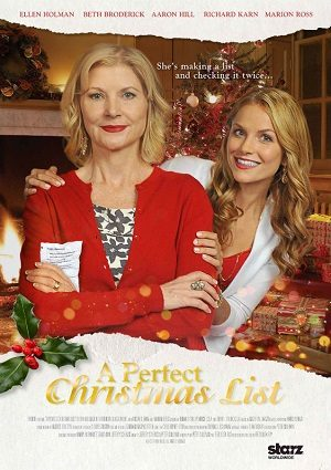 A Perfect Christmas List (2014) - Christmas Movies on TV ...