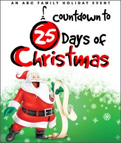 "ABC Family's 2015 ""Countdown to 25 Days of Christmas"" starts November 22nd"