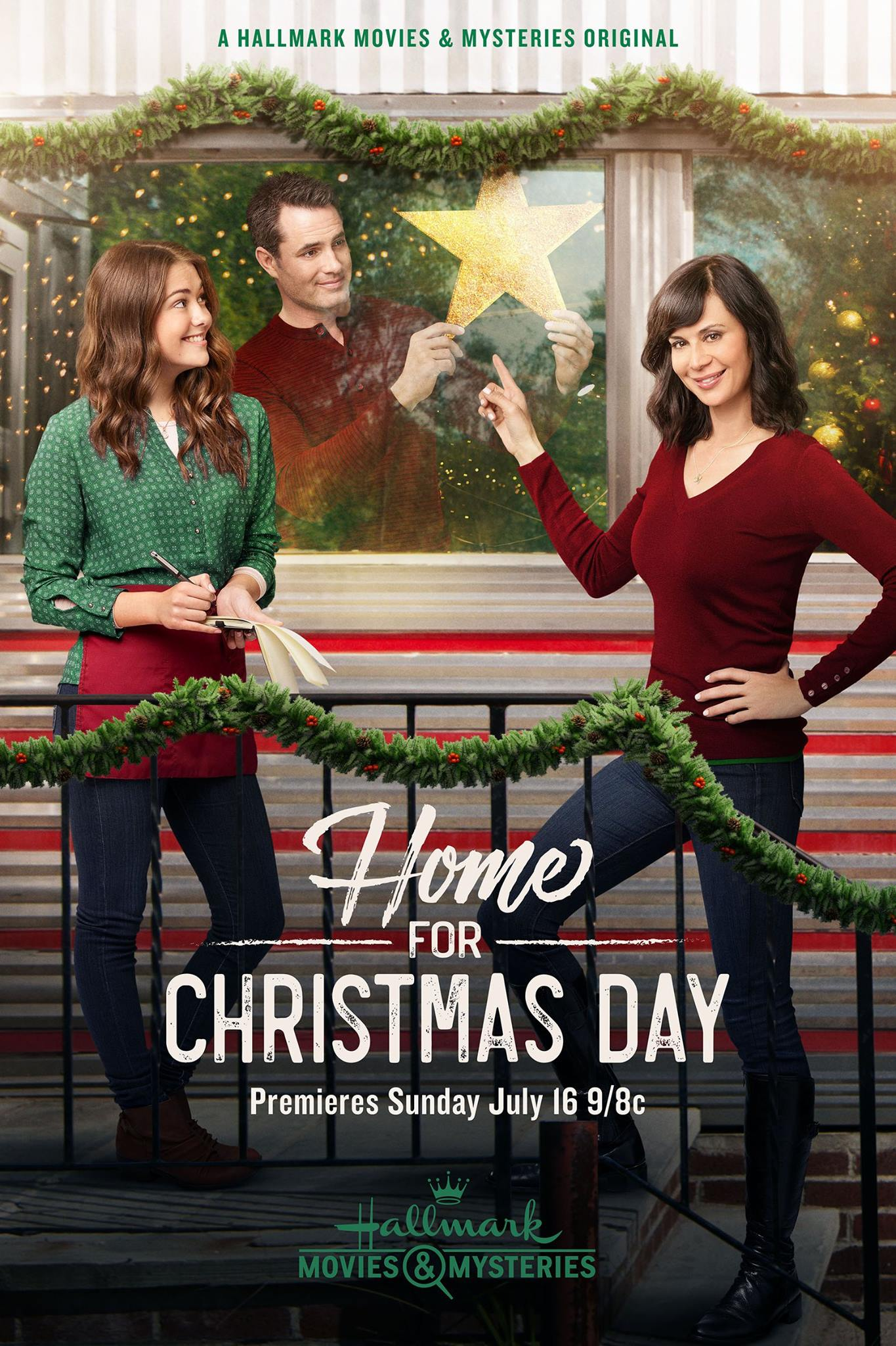 Home for christmas day 2017 2017 christmas movies on for Hallmark christmas in july 2017 schedule