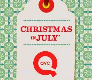 "QVC's annual ""Christmas in July"" Kickoff Sale airs July 1st"