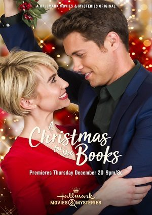 A Christmas for the Books airs tonight June 6th on Hallmark Movies and Mysteries