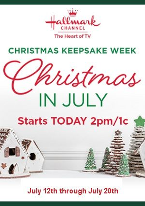 Hallmark Christmas In July 2019.Hallmark Channel S Keepsake Christmas Begins Friday July